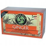 Triple Leaf Tea Herbal Ginger Tea Drink Spicy Strong Ginger Root Taste